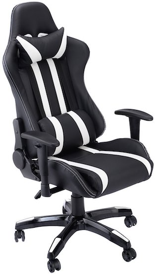 giantex-executive-racing-style-high-back-reclining-chair-  sc 1 st  High Ground Gaming : reclining pc gaming chair - islam-shia.org