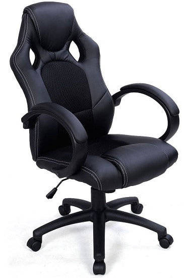 reclining desk computer office idea chair chairs best cool for on wheels