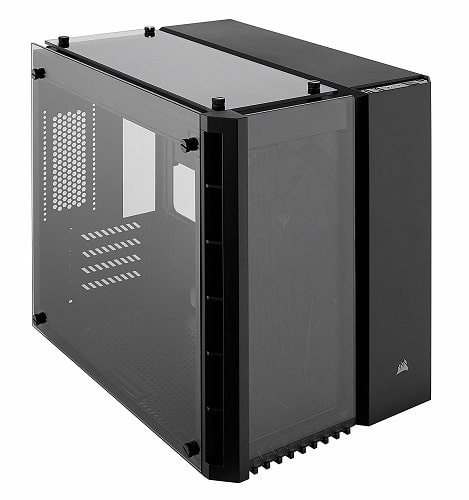 CORSAIR Crystal 280X Micro-ATX Case with Tempered Glass-min