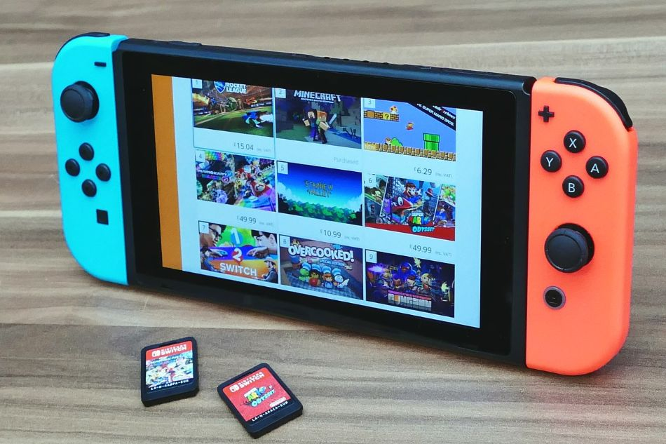 Switch with Games