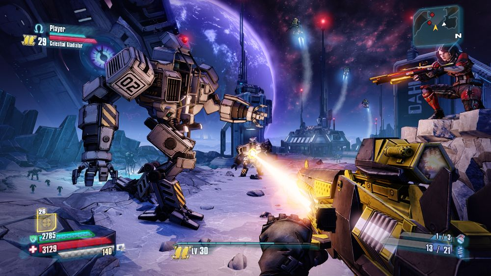 Borderlands Pre Sequel Gameplay